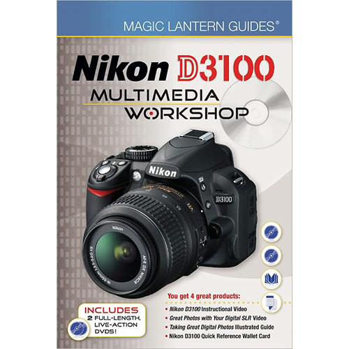 Sterling Publishing Book/DVD: Magic Lantern Multimedia Workshop for the Nikon D3100 Digital SLR Camera