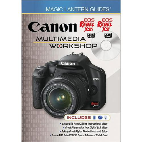 Sterling Publishing Book/DVD: Magic Lantern Guides: Canon EOS Digital Rebel XSi (aka 450D) Multimedia Workshop