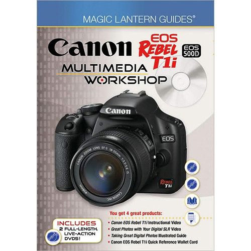 Sterling Publishing Book/DVD: Magic Lantern Guides: Canon EOS Rebel T1i/EOS 500D Multimedia Workshop