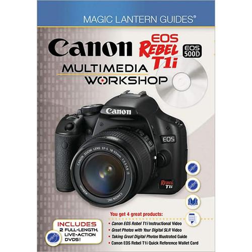 Sterling Publishing Book/DVD: Magic Lantern Guides: Canon EOS Rebel T1i/EOS 500D Multimedia Workshop