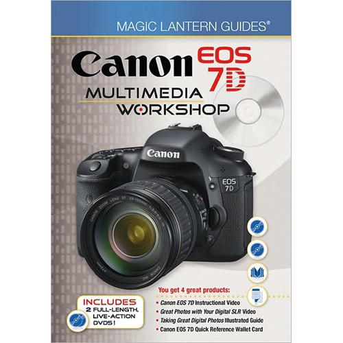 Sterling Publishing Book/DVD: Magic Lantern Guides: Canon EOS 7D Multimedia Workshop