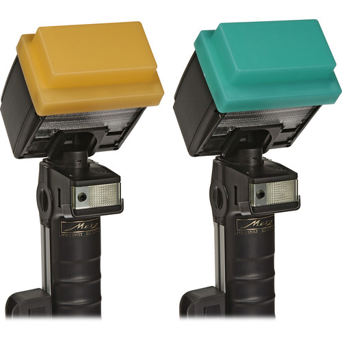 Sto-Fen OC-60SET Green and Gold Omni-Bounce Diffuser Set