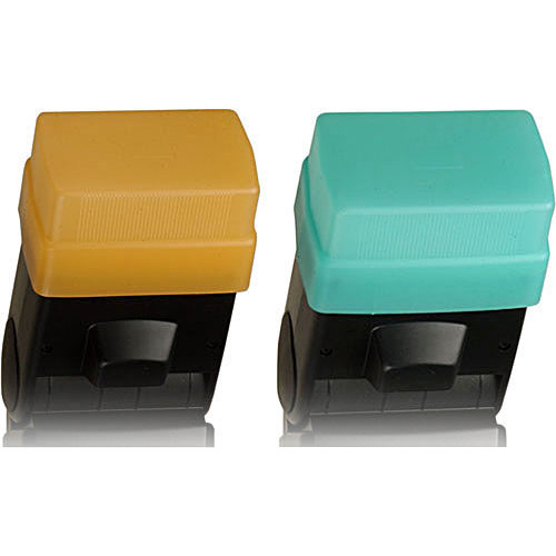 Sto-Fen OC-EYSET Green and Gold Omni-Bounce Diffuser Set