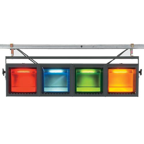 Strand Lighting Aurora 4-Cell Linear Cyc Light (120VAC)