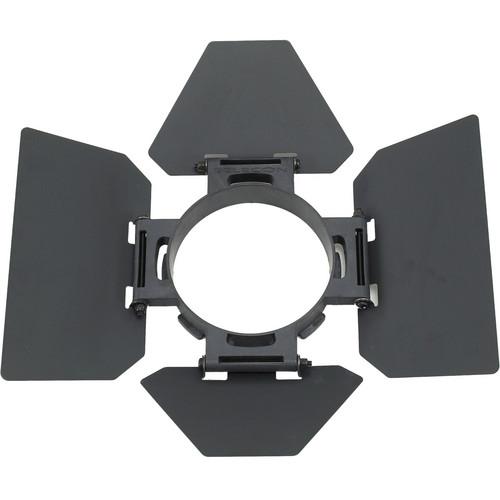 Strand Lighting 4-Leaf Barndoors for Acclaim Fresnel (White/Black)