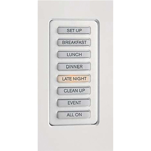 Strand Lighting 61201 Environ3 Strap-Style 8-Preset Master Control Station (White Finish)