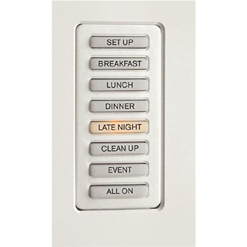 Strand Lighting 61201H Environ3 Heatsink 8-Preset Master Control Station (Almond Finish)