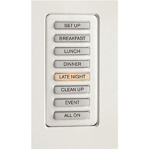 Strand Lighting 61201H Environ3 Heatsink 8-Preset Master Control Station (Almond Finish)