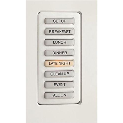 Strand Lighting 61201H Environ3 Heatsink 8-Preset Master Control Station (Black Finish)
