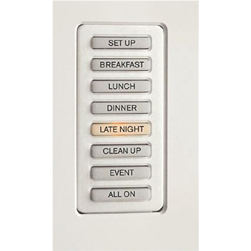 Strand Lighting 61201H Environ3 Heatsink 8-Preset Master Control Station (Gray Finish)