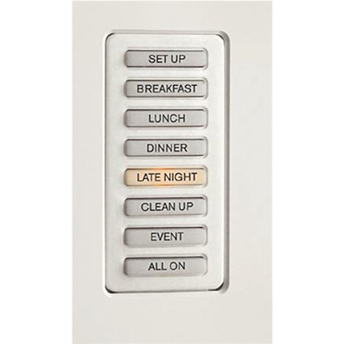 Strand Lighting 61201H Environ3 Heatsink 8-Preset Master Control Station (White Finish)