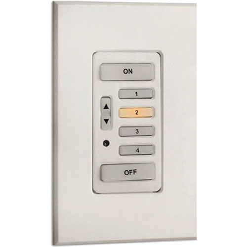 Strand Lighting 61202 Environ3 Strap-Style 4-Preset Master Control Station (Gray Finish)