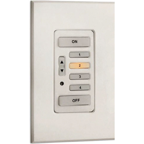 Strand Lighting 61202 Environ3 Strap-Style 4-Preset Master Control Station (Ivory Finish)