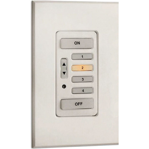 Strand Lighting 61202 Environ3 Strap-Style 4-Preset Master Control Station (White Finish)
