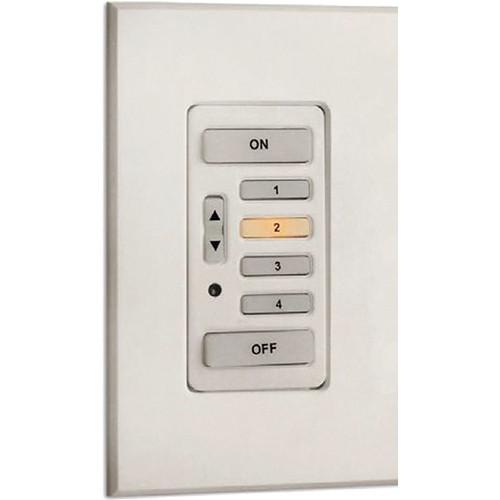 Strand Lighting 61202 Environ3 Heatsink 4-Preset Master Control Station (Gray Finish)