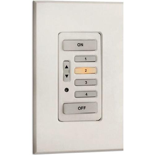 Strand Lighting 61202 Environ3 Heatsink 4-Preset Master Control Station (White Finish)