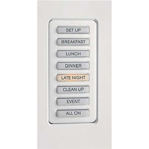 Strand Lighting 61203 Environ3 Strap-Style Master Control Station (Ivory Finish)