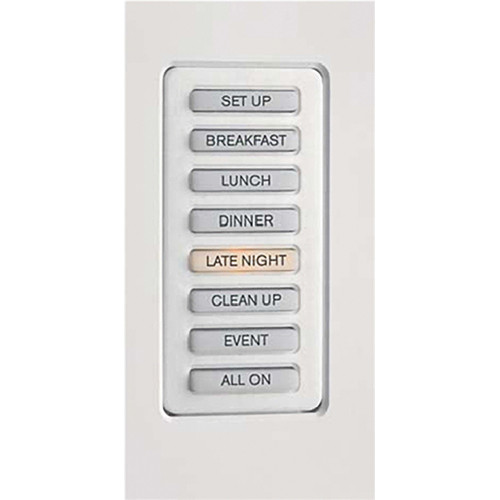 Strand Lighting 61203H Environ3 Heatsink 8-Preset Master Control Station (Ivory Finish)