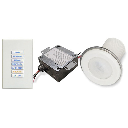 Strand Lighting 2-Single Pole Non-Dim Switch & 2-Channel Advance Mark 7 Dimmer Module