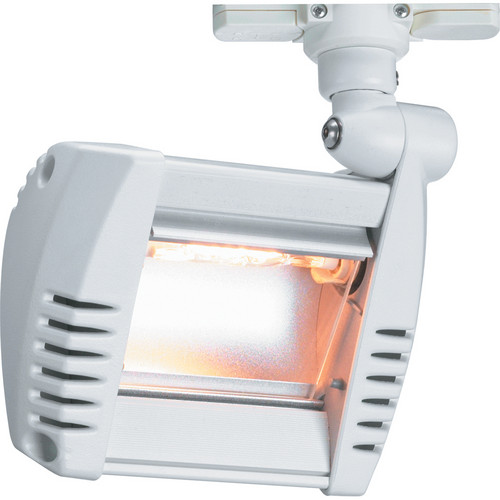 Strand Lighting ARLF01TLSI01 Tungsten Halogen Aureol Fresco Flood Luminaire (Lightolier Track Adapter, White)