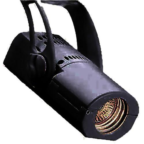 Strand Lighting Aureol BeamSpot Luminaire with Global Track Adapter (Black)