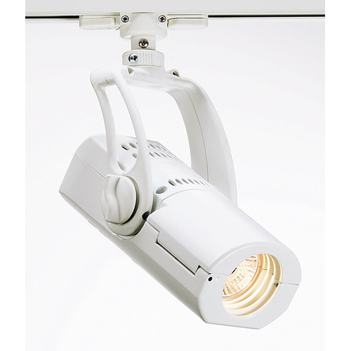 Strand Lighting Aureol BeamSpot Luminaire with Dimmer and LSI Track Adapter (White)
