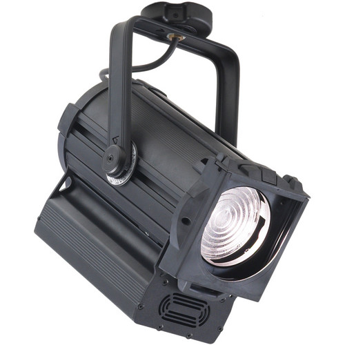 "Strand Lighting Astral 7.0-60 Degree CDM 4.0"" Fresnel - Flying Lead, 120V Edison Plug - (Black) ${volts)"