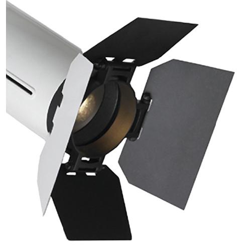 Strand Lighting PL1 LED Luminaire Barndoor (White Exterior & Black Interior)
