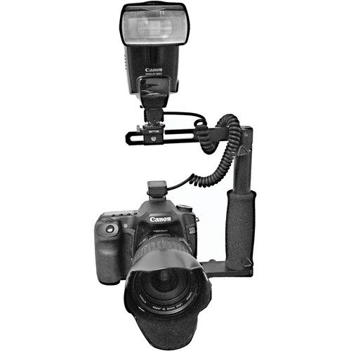 "Stratos ST1035F 10"" 35mm Folding Flash Bracket (Black)"