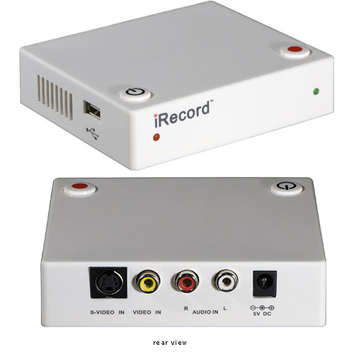 Streaming Networks iRecord Personal Media Recorder (White)