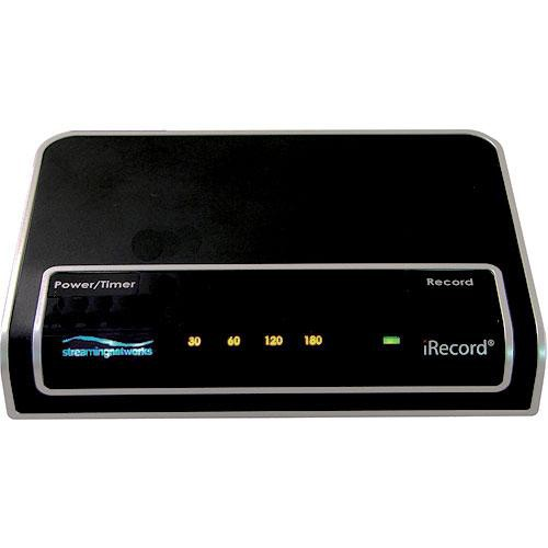 Streaming Networks iRecord Pro Personal Media Recorder (Black)