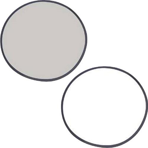 """Stroboframe 22"""" Silver/White Reflector"""
