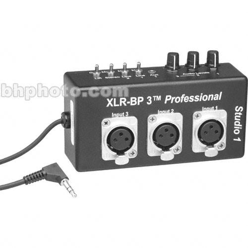 Studio 1 Productions XLR-BP3 Pro - Belt Clip XLR Adapter with