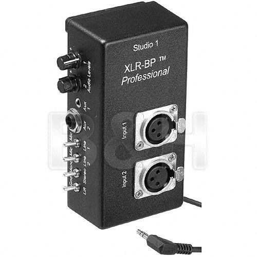 Studio 1 Productions XLR-BP Pro - Belt Clip XLR Adapter with
