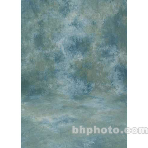 Studio Dynamics 10x10' Muslin Background - Ventura Green, Blue