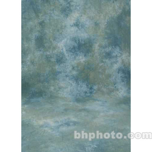 Studio Dynamics 10x15' Muslin Background - Ventura Green, Blue