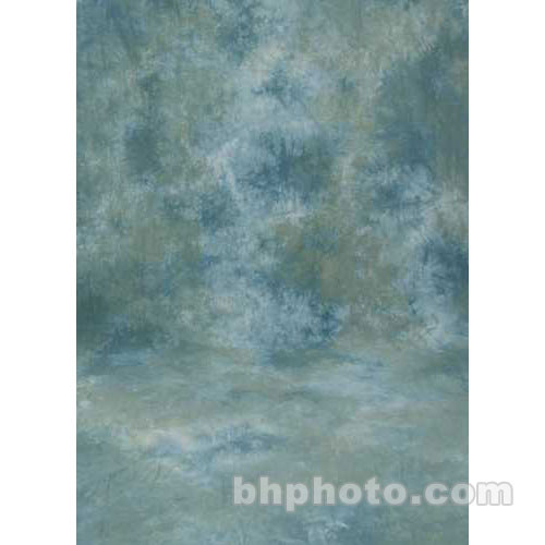Studio Dynamics 10x30' Muslin Background - Ventura Green, Blue