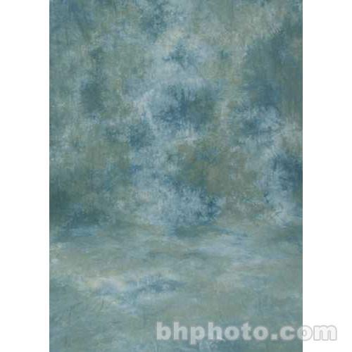 Studio Dynamics 12x12' Muslin Background - Ventura Green, Blue