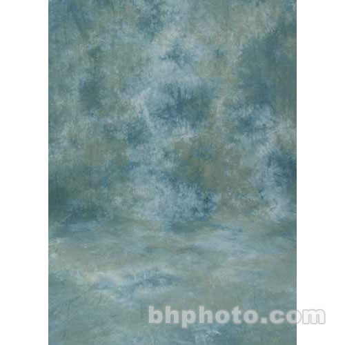 Studio Dynamics 12x20' Muslin Background - Ventura Green, Blue
