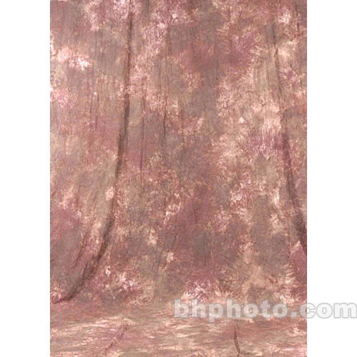 Studio Dynamics 12x30' Muslin Background - Saratoga Brown, Pink