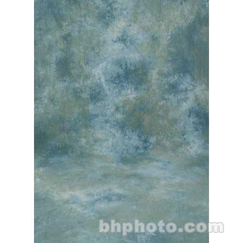 Studio Dynamics 12x30' Muslin Background - Ventura Green, Blue