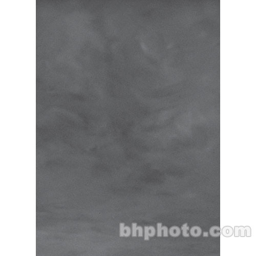 Studio Dynamics Canvas Background, Light Stand Mount - 5x6' - Medium Gray Texture