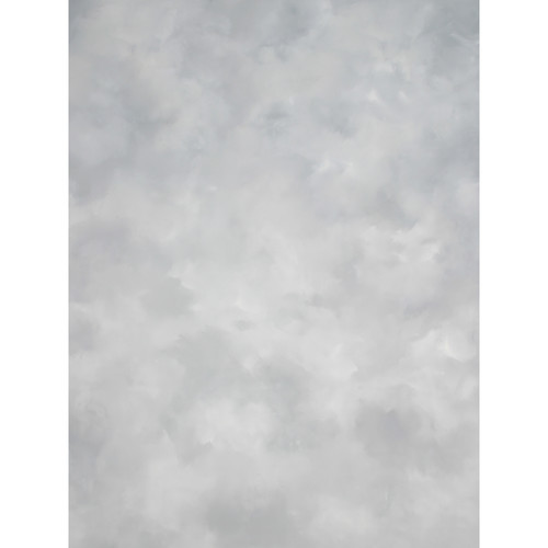 Studio Dynamics Canvas Background, Light Stand Mount - 5x7' - Light Gray Texture