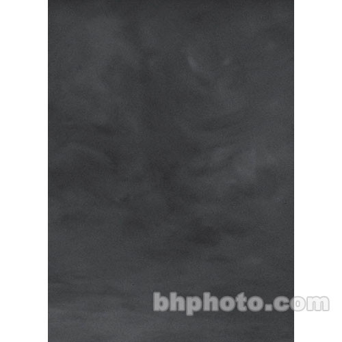 Studio Dynamics Canvas Background, Light Stand Mount - 6x7' - Dark Gray Texture