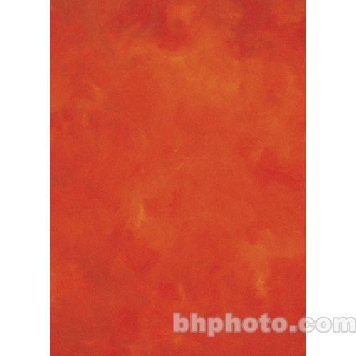 Studio Dynamics Canvas Background, Light Stand Mount - 6x7' - Hot Chile