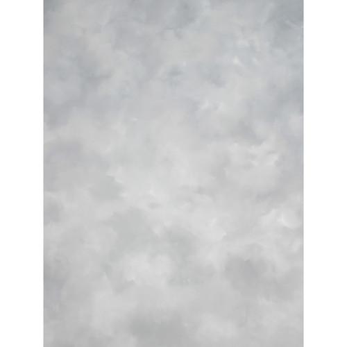 Studio Dynamics Canvas Background, Light Stand Mount - 6x7' - Light Gray Texture