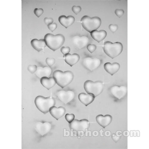 Studio Dynamics 6x8' Canvas Scenic Background SM - Gray Hearts