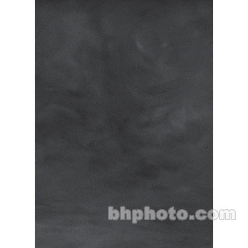 Studio Dynamics Canvas Background, Lightstand Mount - 7x8' - Dark Gray Texture
