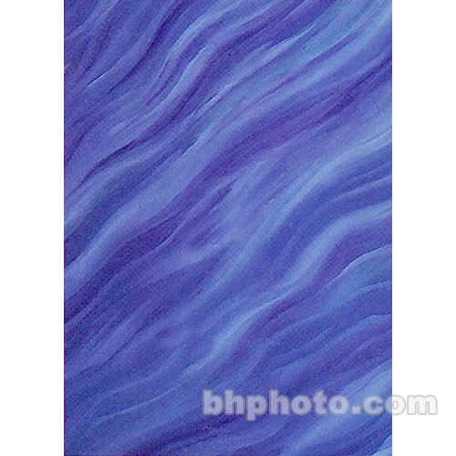 Studio Dynamics Canvas Background, Light Stand Mount - 7x8' - Waterfall
