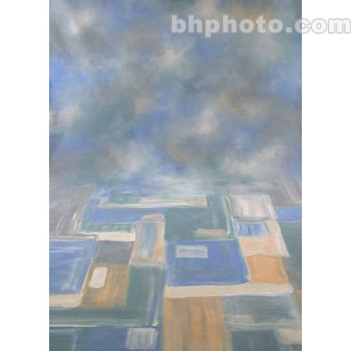 Studio Dynamics Canvas Background, Studio Mount - 7x8' (Abstracta)